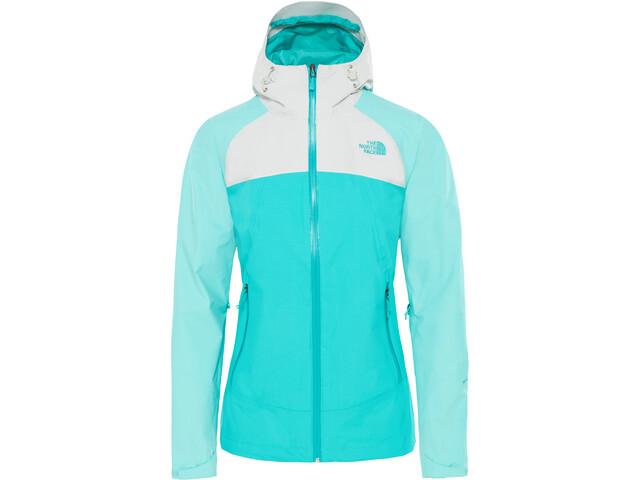 The North Face Stratos Jacket Damen ion blue/mint blue/tin grey